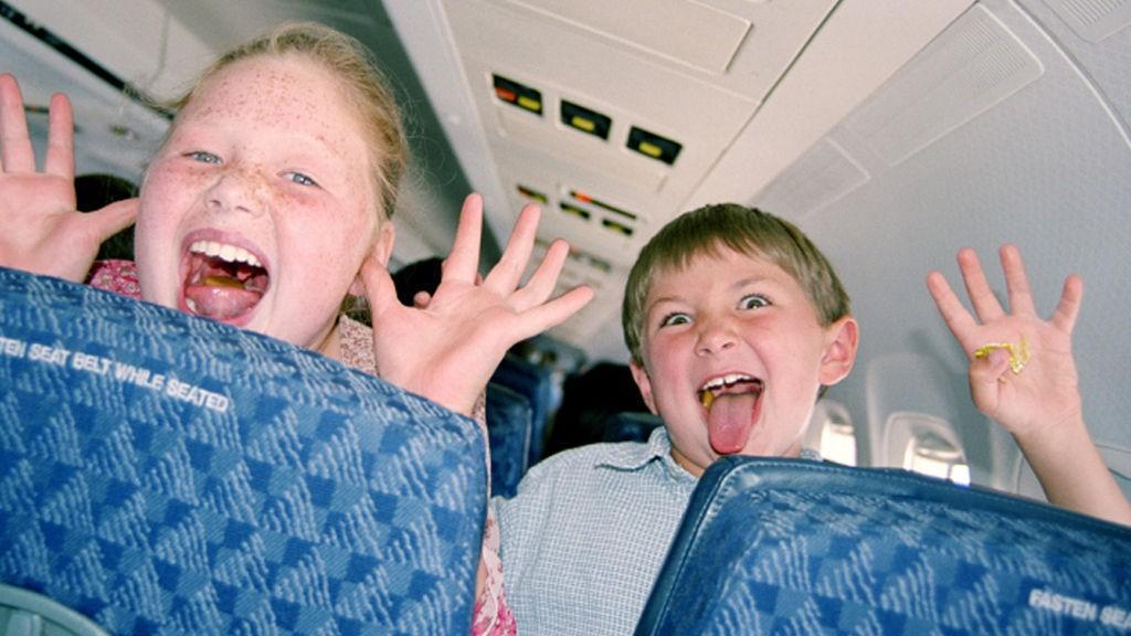 Vil du slippe barn på fly?