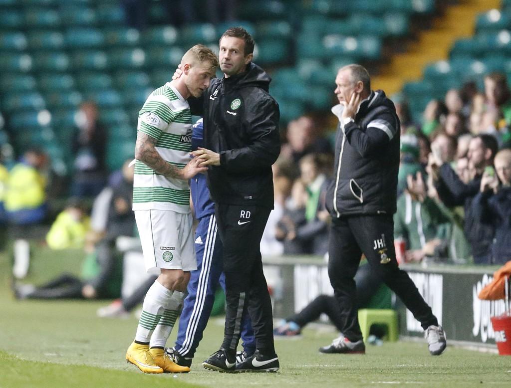 VIL BEHOLDE GUIDETTI: Ronny Deila håper John Guidetti blir i Celtic, men får tøff konkurranse fra europeiske storklubber.