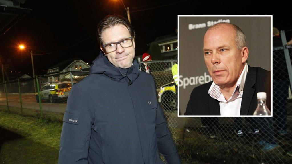 SKUFFET: Både Rikard Norling og Roald Bruun-Hanssen