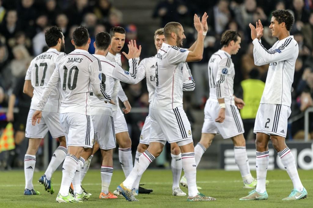 UTILNÆRMELIGE: Real Madrid ser meget solid ut og tok en ny seier borte mot Basel.