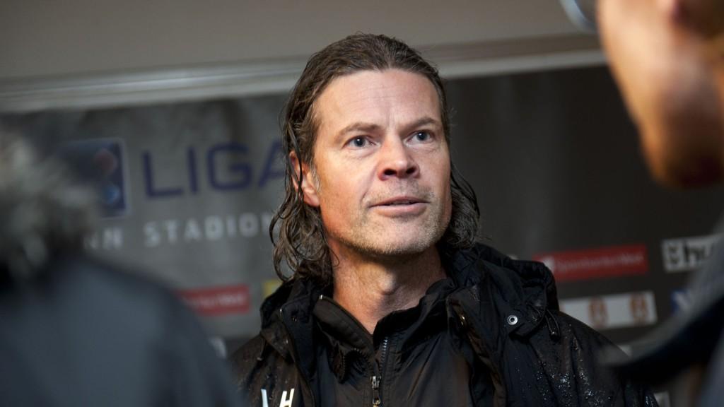 PÅ SPILLERJAKT: Vegard Hansen regner med å hente inn 2-3 nye spillere før neste sesong.