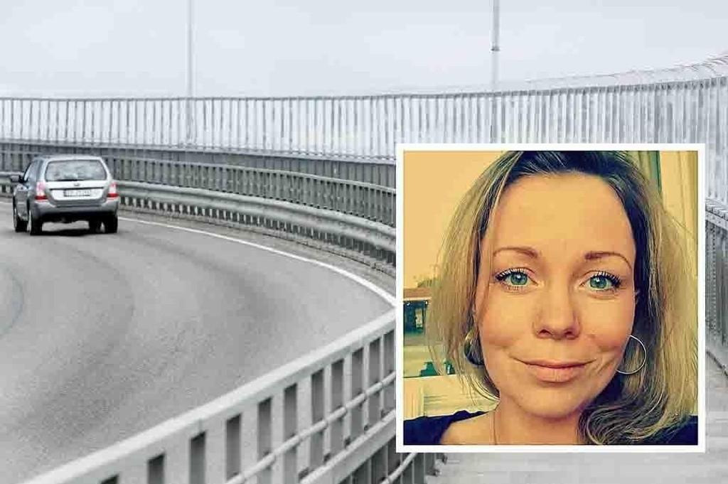 SKREMMENDE: Jill-Therese Olsen (33) trodde hennes siste time var kommet på Tromsøbrua forrige fredag.