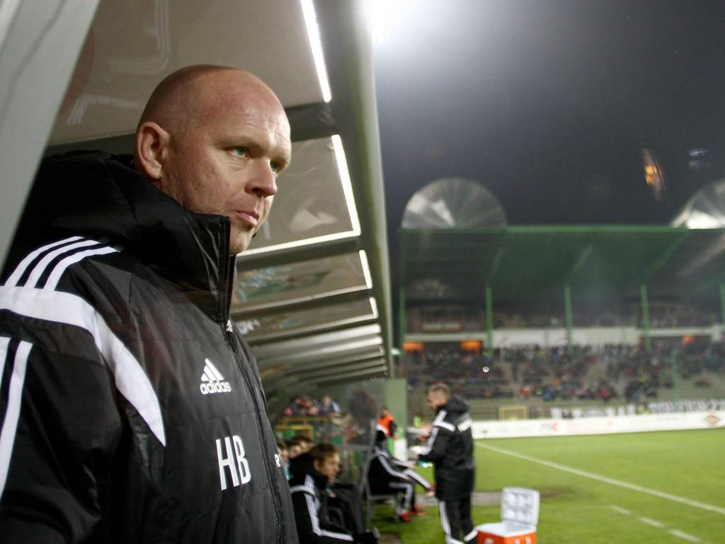 STOPPET I BELGIA: Legia Warszawa er ikke lenger uslåelig i europacupkampene under Henning Berg.