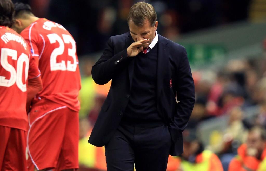 Liverpool-manager Brendan Rodgers har all grunn til å være bekymret for tiden.