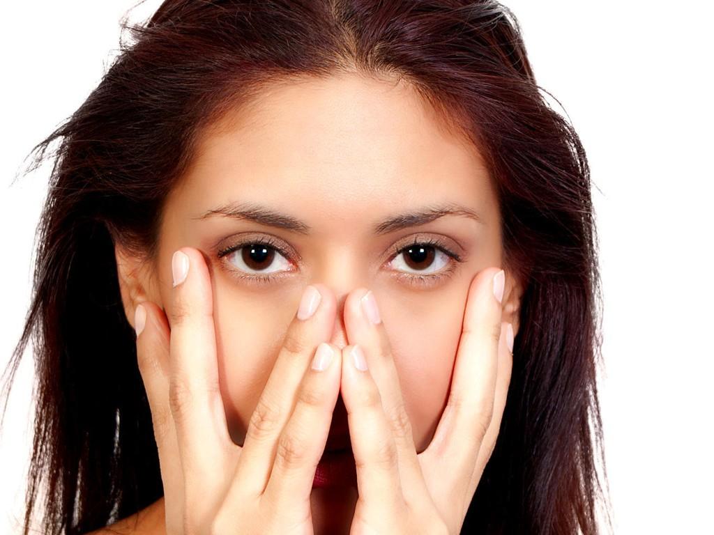 stressutslag i ansiktet behandling