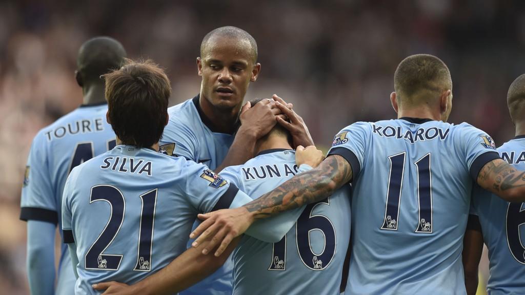 Vincent Kompany, David Silva og Aleksandar Kolarov er tre av Manchester City-stjernene som for tiden er ute med skader.