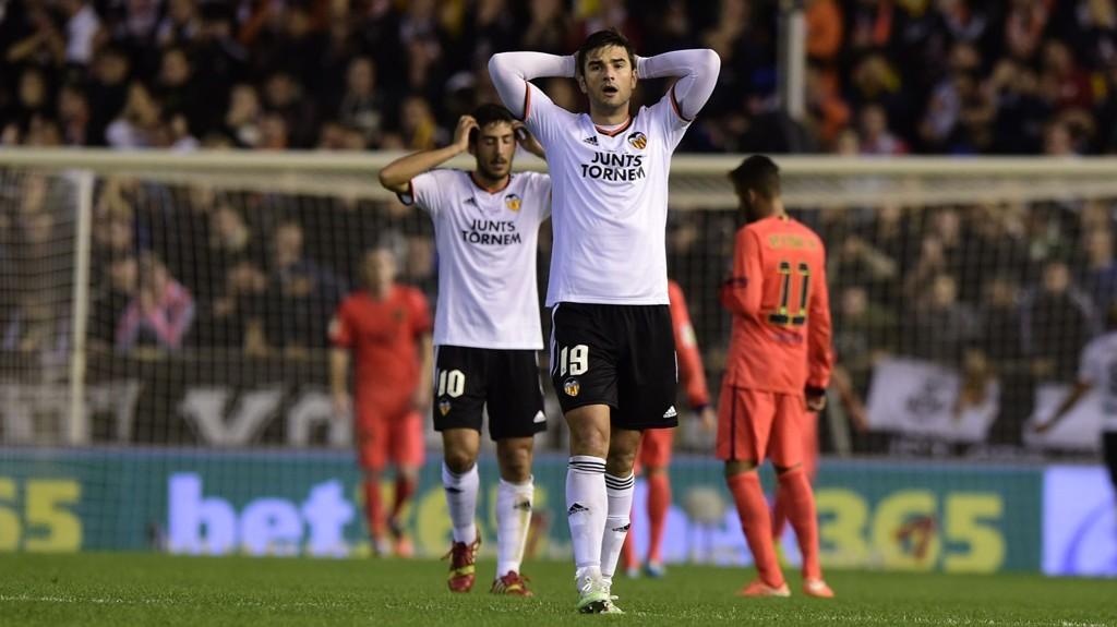 Valencia-spillerne leverte en sterk match Barcelona i helgen, men måtte gi tapt på overtid. Vi tror ikke innsatsen blir like god i kveldens cupkamp mot Rayo Vallecano.