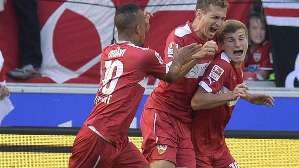 Stuttgart slo tilbake med en 4-1-seier over Freiburg forrige runde.