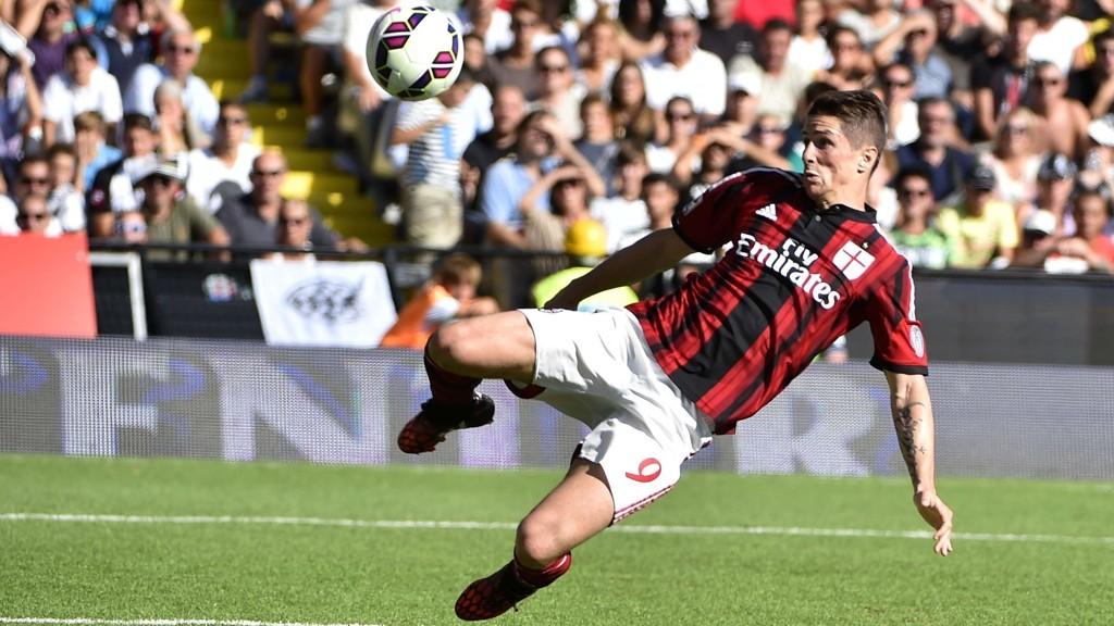 Fernando Torres har slitt med å komme igang i Milan-trøya.