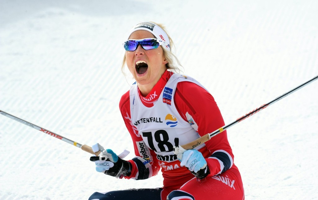 Therese Johaug har vist kanontakter hittil denne sesongen.