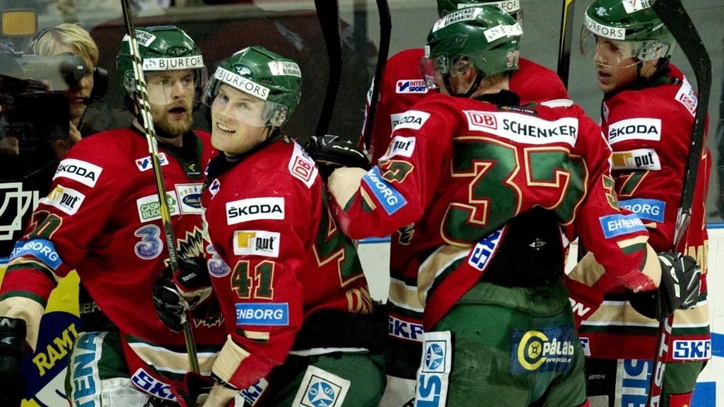 Det norske esset Mathis Olimb er eneste usikkerhetsmoment for Frölunda i kveldens match i Champions League.