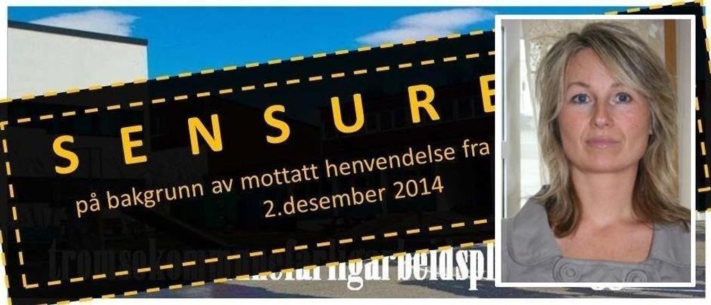 SENSUR: Rita Esperø Hansen fikk forhåndsvarsel fra kommunen som ønsker at hun stenger bloggen sin.
