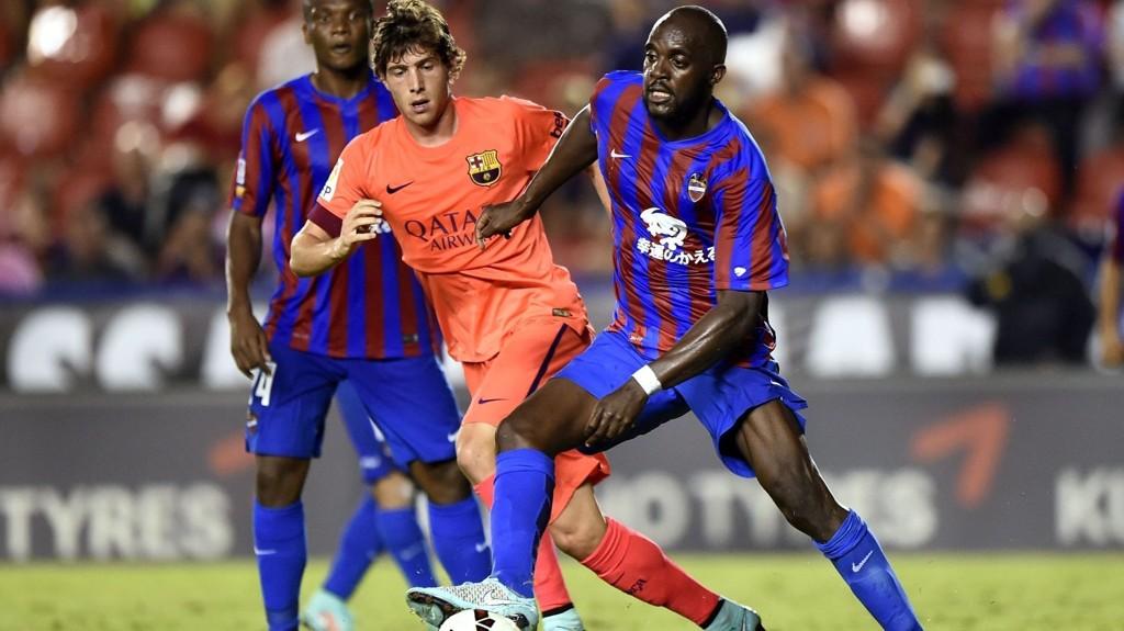 Levante hadde ingen sjanser til å komme opp på Barcelonas nivå i 0-5-tapet i september, men har en langt enklere motstander i kveldens cupkamp.