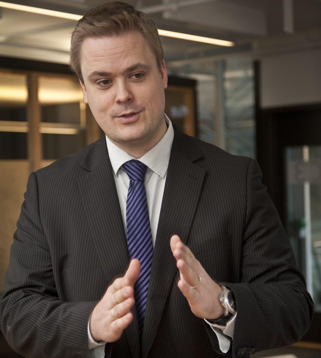 Priatøkonom Endre Jo Reite i Sparebanken 1 SMN.