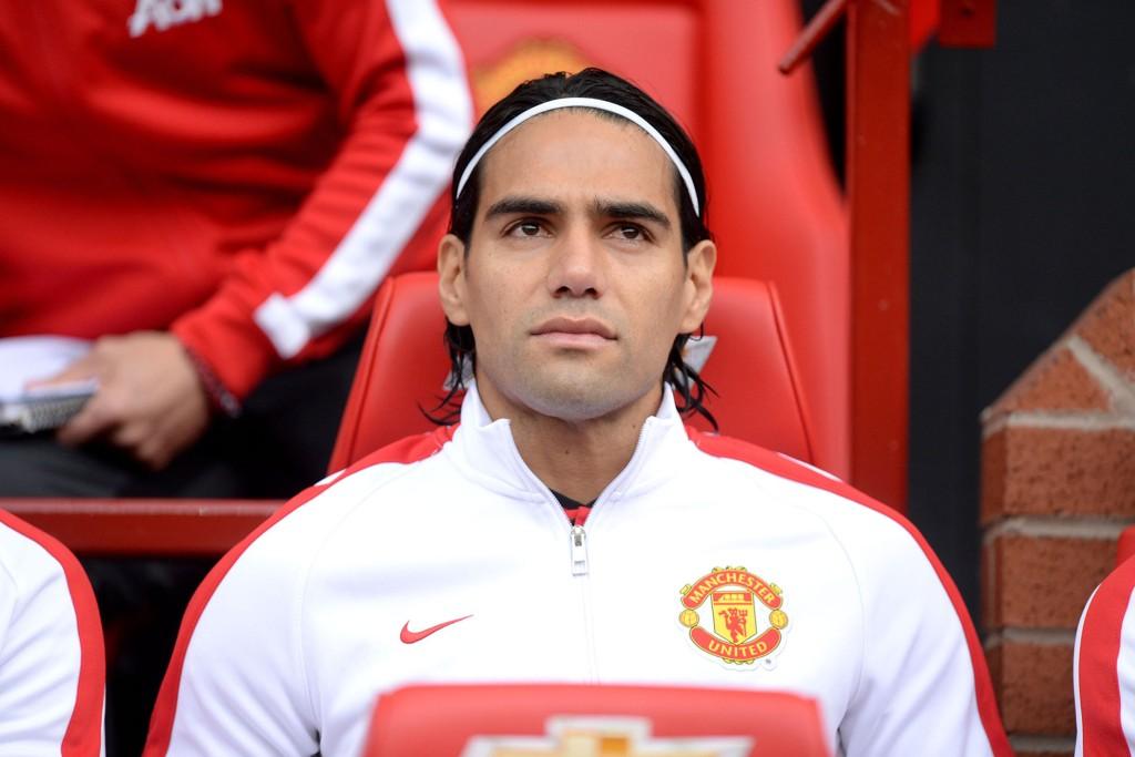 VIL BLI: Radamel Falcao sier han er tålmodig.