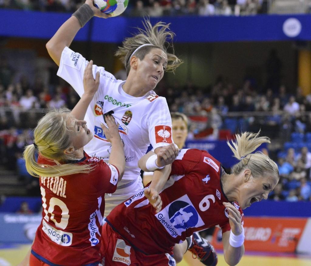 TAPTE: Heidi Løke og de norske jentene ble tatt på senga av Ungarn.