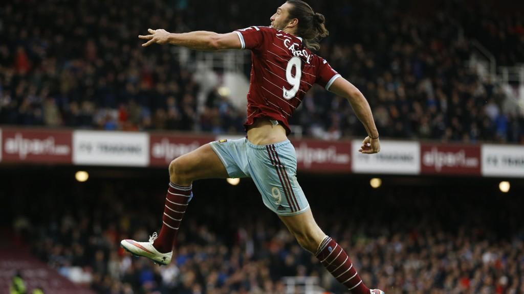 Andy Carroll og West Ham har bøttet inn med mål denne sesongen.