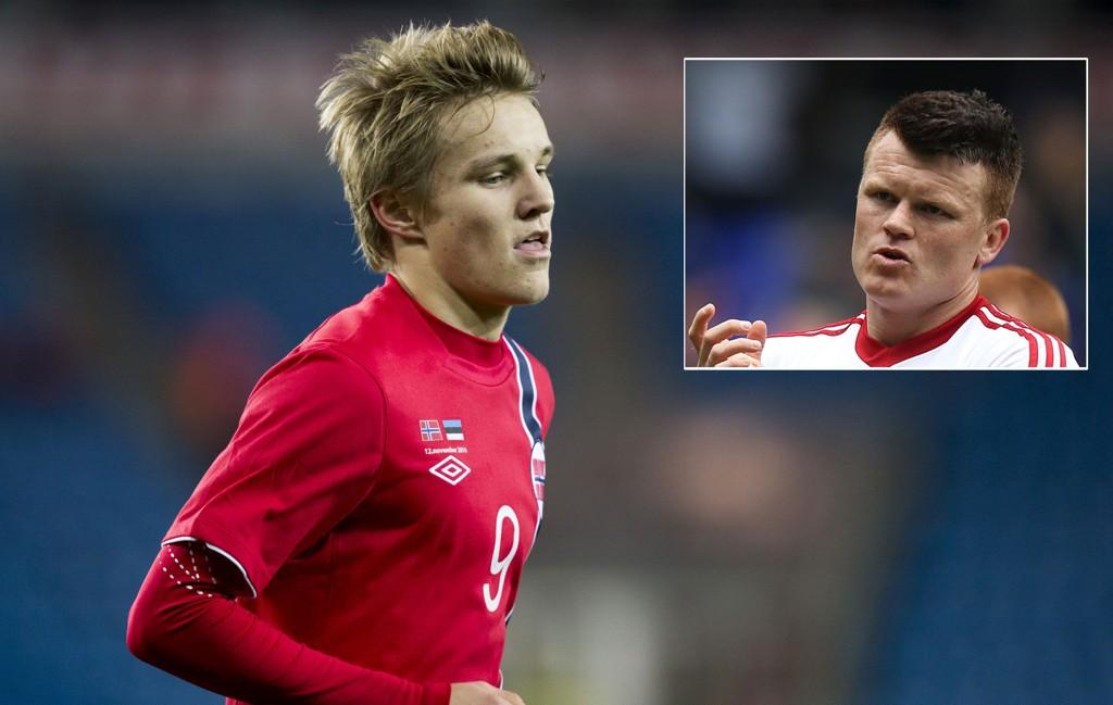 TIPS: John Arne Riise råder Martin Ødegaard til å signere en langtidskontrakt med en storklubb.