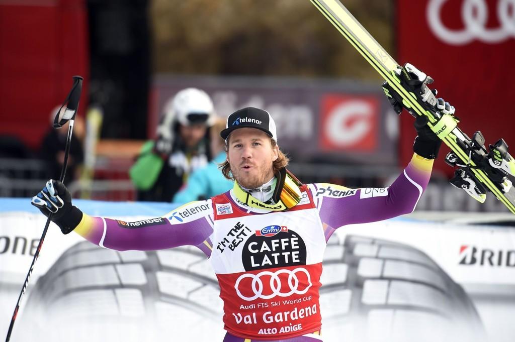 EGEN KLASSE: Kjetil Jansruds superform fortsatte lørdag, da han tok seieren i super-G-rennet i Val Gardena.
