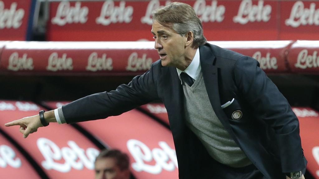 Roberto Mancini har sitt å stri med i Inter Milan.