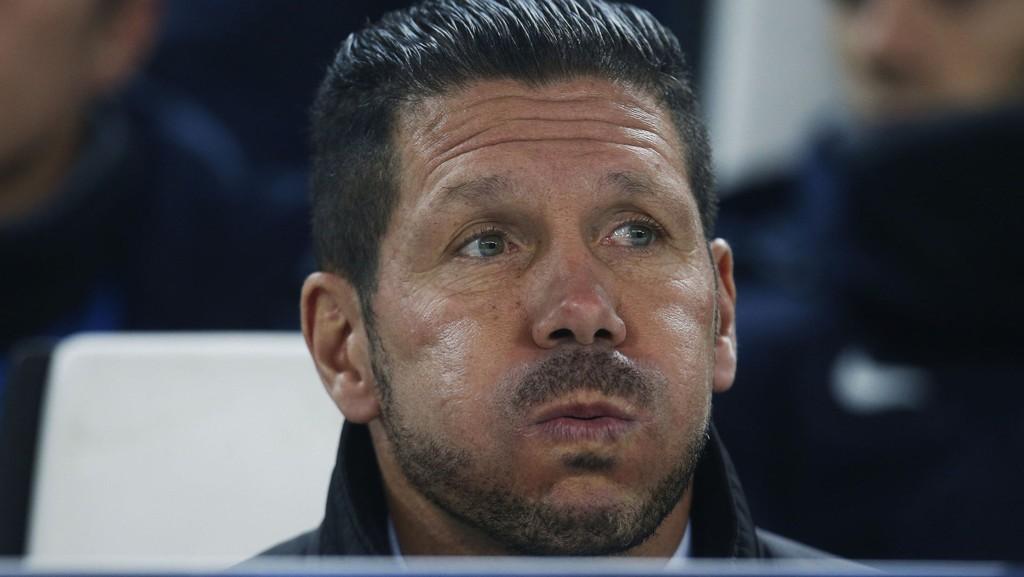 Simeone har sett sitt lag slite tre kamper på rad nå.