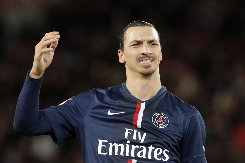 SKYGGE: Zlatan Ibrahimovic var en skygge av seg selv i oppgjøret mot Montpellier.
