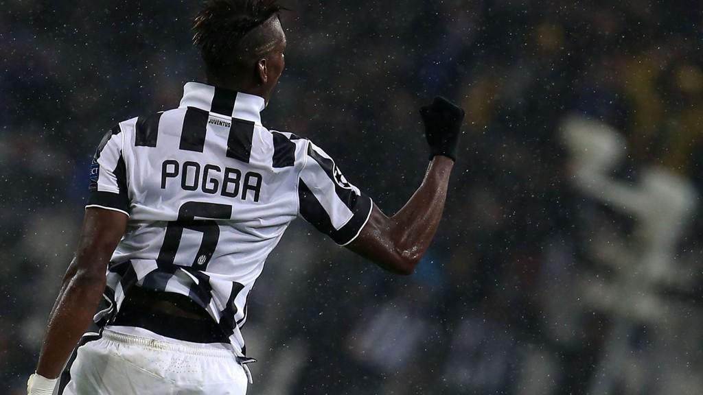 Paul Pogba kan sikre enda en tittel for Juventus.