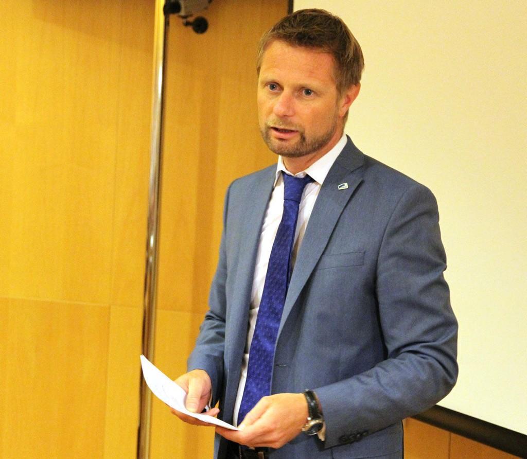 Helseminister Bent Høie. Foto: Helse- og omsorgsdepartementet.
