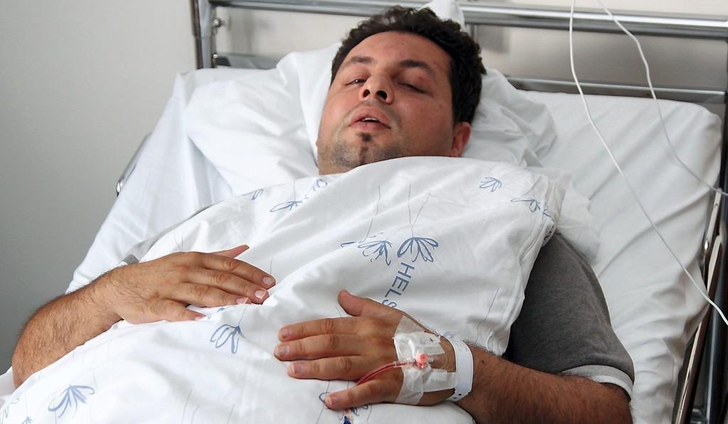 BRUDD PÅ HODESKALLEN: Baris Yacan ble slått og skallet i august i fjor. Nå er to menn tiltalt for volden mot innehaveren av utestedet El Nero på Årnes. FOTO: Rolf Nordberg (Glåmdalen)