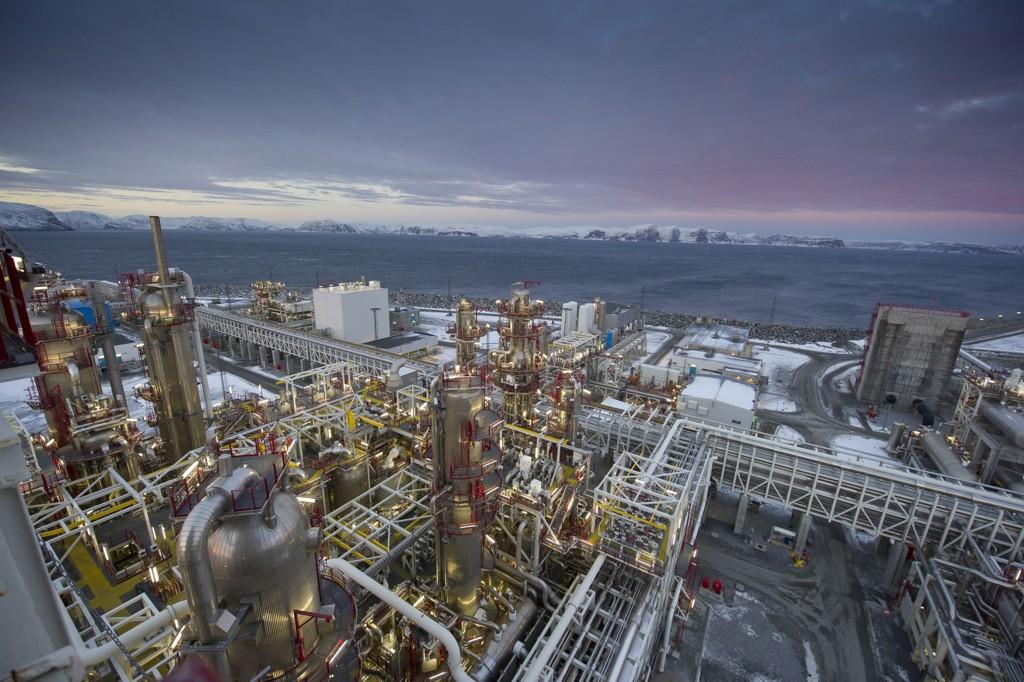 Flere analyser viser at Norge ikke trenger en oljepris på mer enn 40 dollar fatet – langt under selv dagens relativt lave nivå – for å balansere budsjettet. Bildet: Melkøya