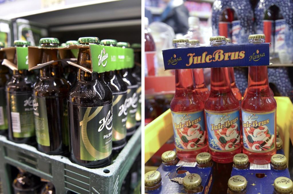 Det finnes fremdeles julebrus og øl fra Hansa på gjenbruksflasker av glass i butikkene, men planen er at de skal vekk.