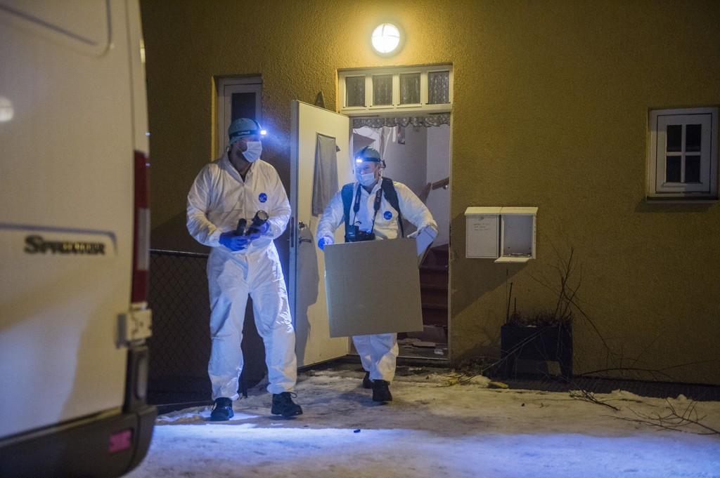 DRAP: Mannen som ble funnet drept i en leilighet på Ekeberg natt til mandag skal ifølge VG ha blitt funnet heist opp med bundne hender. Foto: Scanpix
