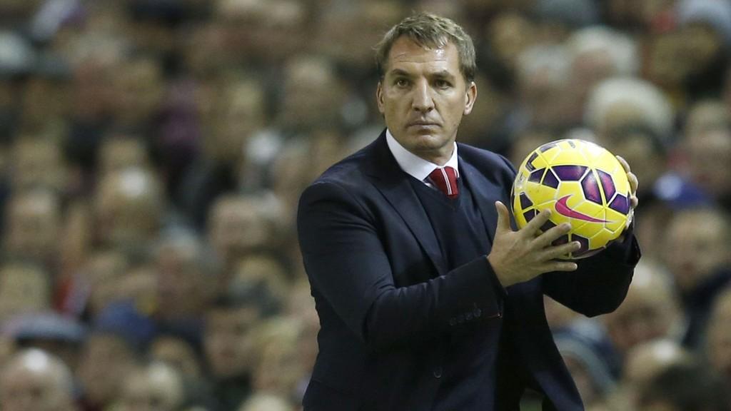 NYTT GRESS: Liverpool-manager Brendan Rodgers skal i lenger tid ha bedt om at klubben skifter ut gressmatten på Anfield.