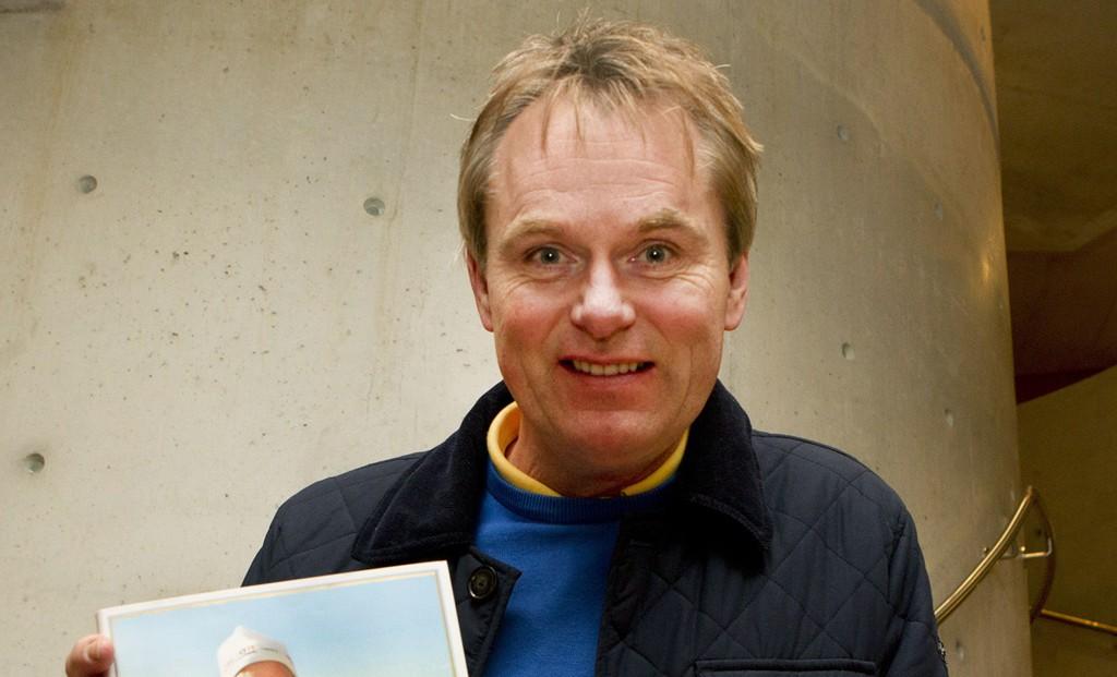 Mangeårig NRK-reporter og proffsyklist Dag Erik Pedersen ble brukt til å lokke investorer.