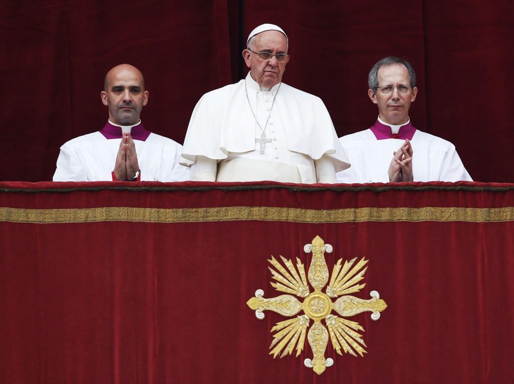 Pave Frans tok for seg en rekke konflikter og hendelser verden har sett i år i sin årlige juletale torsdag.