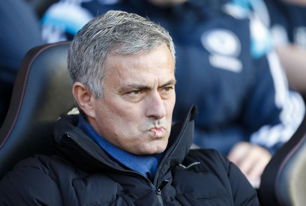 SINT: Chelsea-sjef José Mourinho.