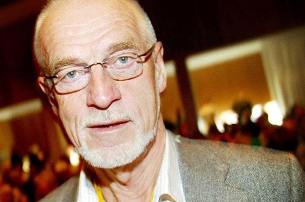STERK I TROEN: Johan Petter Barlindhaug tror aksjene blir mer verdt i fremtiden.