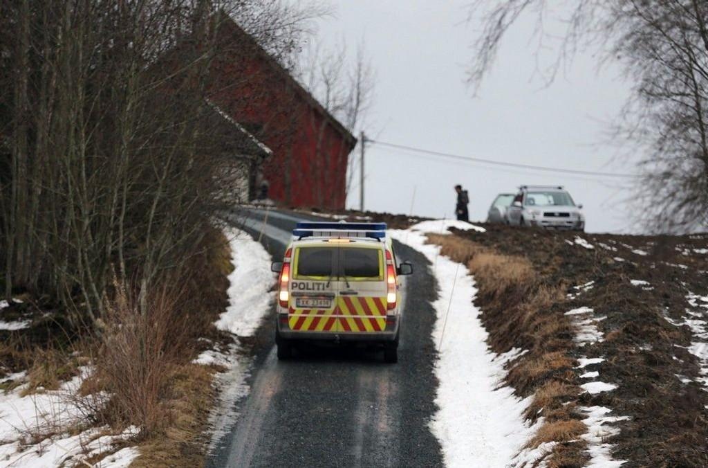 To menn ble er funnet døde på en gård i Levanger onsdag 31.12.