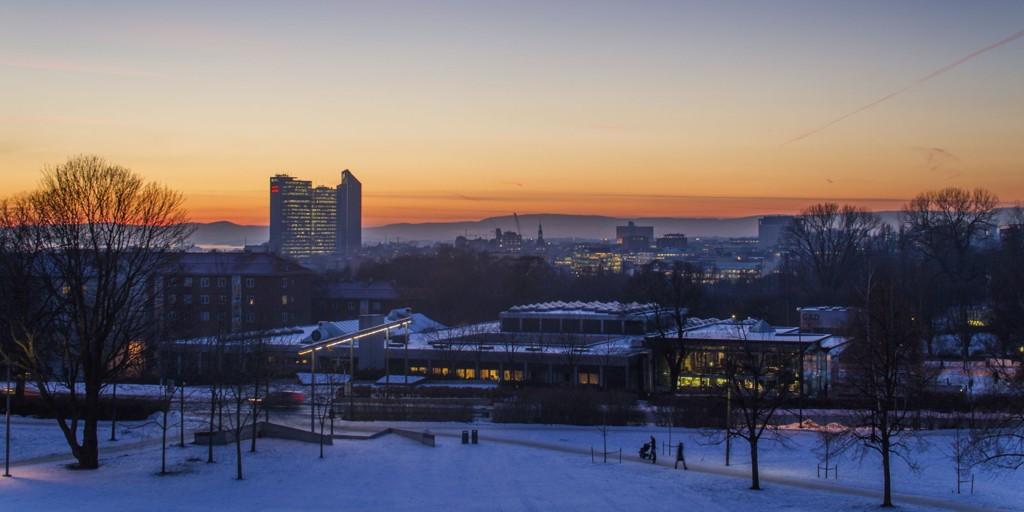 Den gjennomsnittlige kvadratmeterprisen for brukte OBOS-boliger i Oslo-området var i desember i fjor 45.709 kroner.