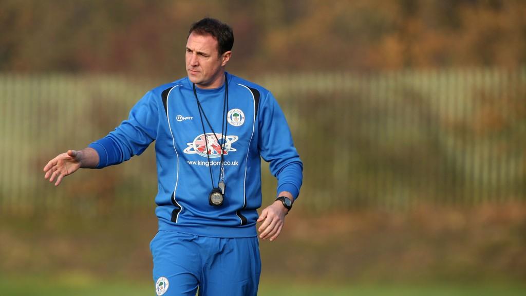 Malky Mackay har ikke fått noen god start på karrieren som Wigan-manager etter at han tok over jobben til Uwe Rösler i november.