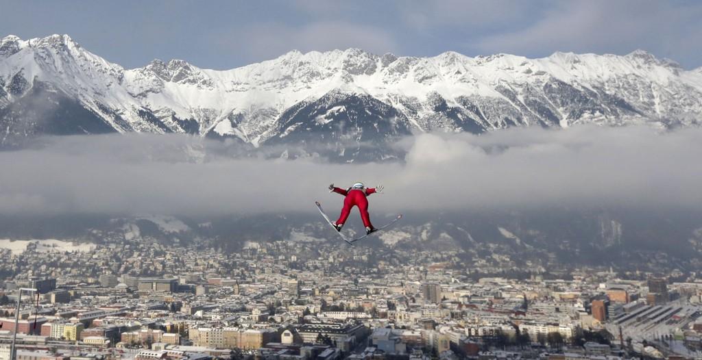 Anders Jacobsen hoppet 120, 5 meter i lørdagens kvalifisering i Innsbruck.