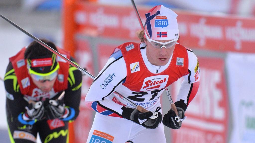 STERKT LANGRENN: Mikko Kokslien gikk et kjempelangrenn på Norges tredjeetappe.