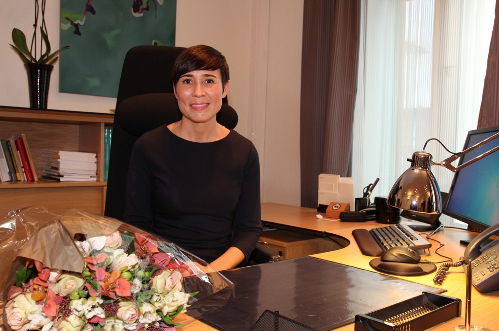 Forsvarsminister Ine Marie Eriksen Søreide. Foto: Forsvarsdepartementet.