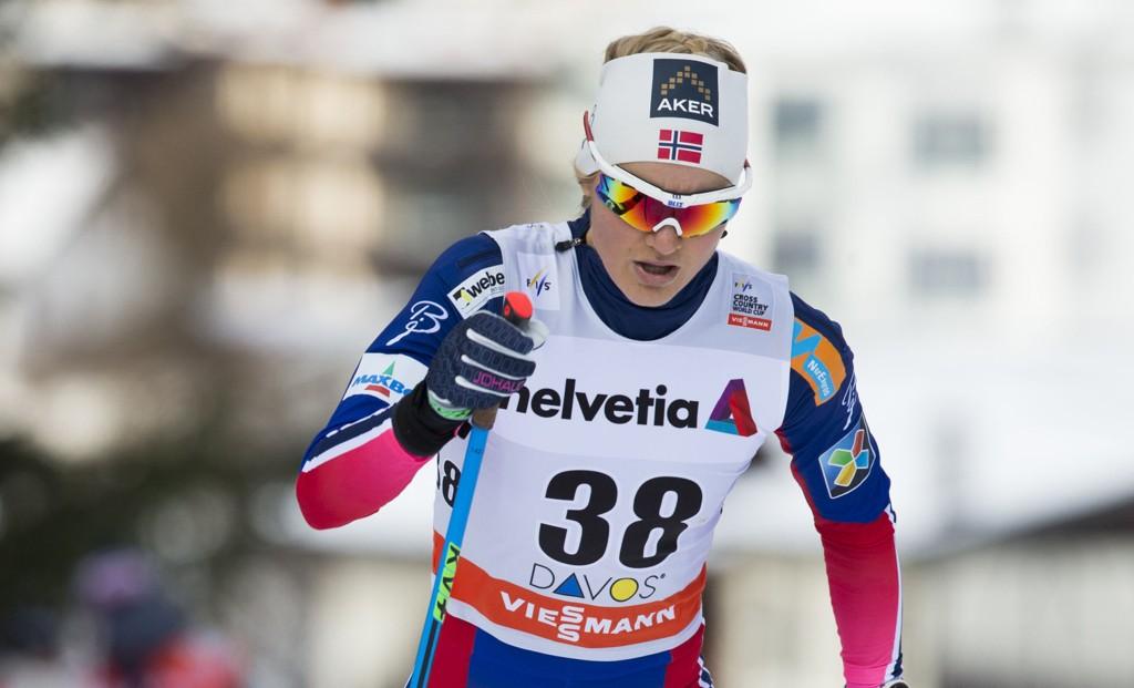 REISER HJEM: Martine Ek Hagen reiser hjem fra Tour de Ski på grunn av sykdom.