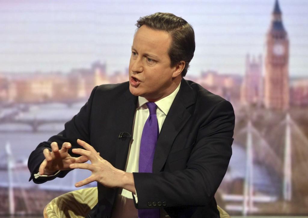 Cameron er under sterkt press fra EU-motstandere i sitt eget parti.