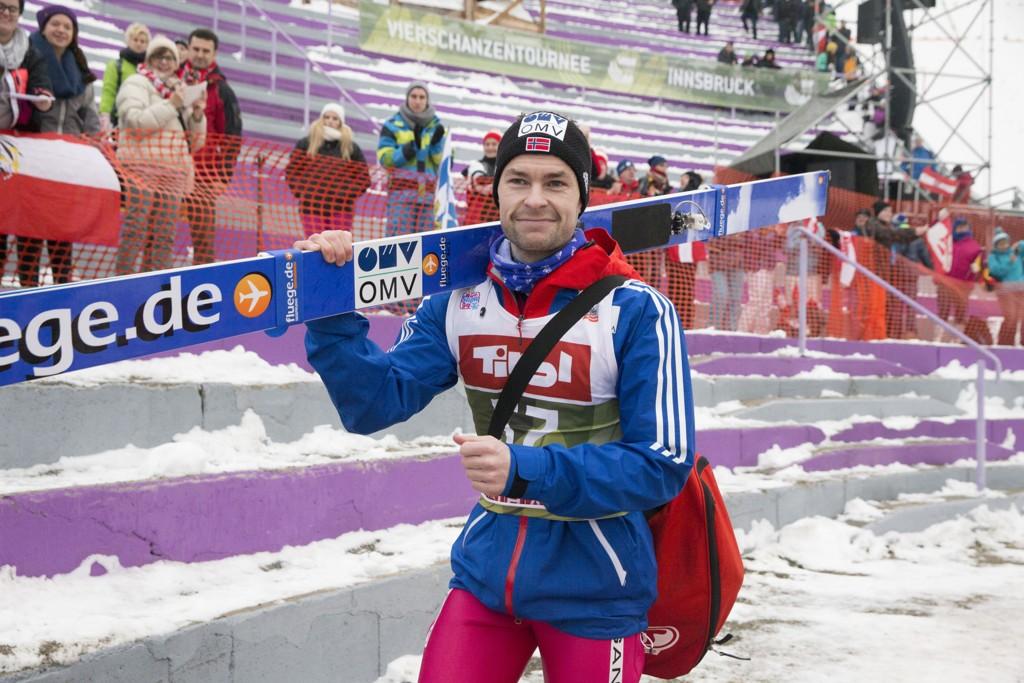 ADVARSEL: Anders Jacobsen har fått advarsel av FIS.