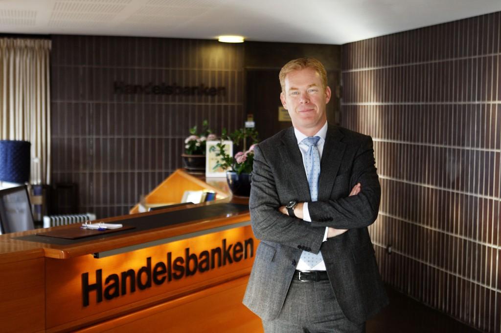 LOVER KONKURRANSEDYKTIGE PRISER: Handelsbanken-sjef Dag Tjernsmo.