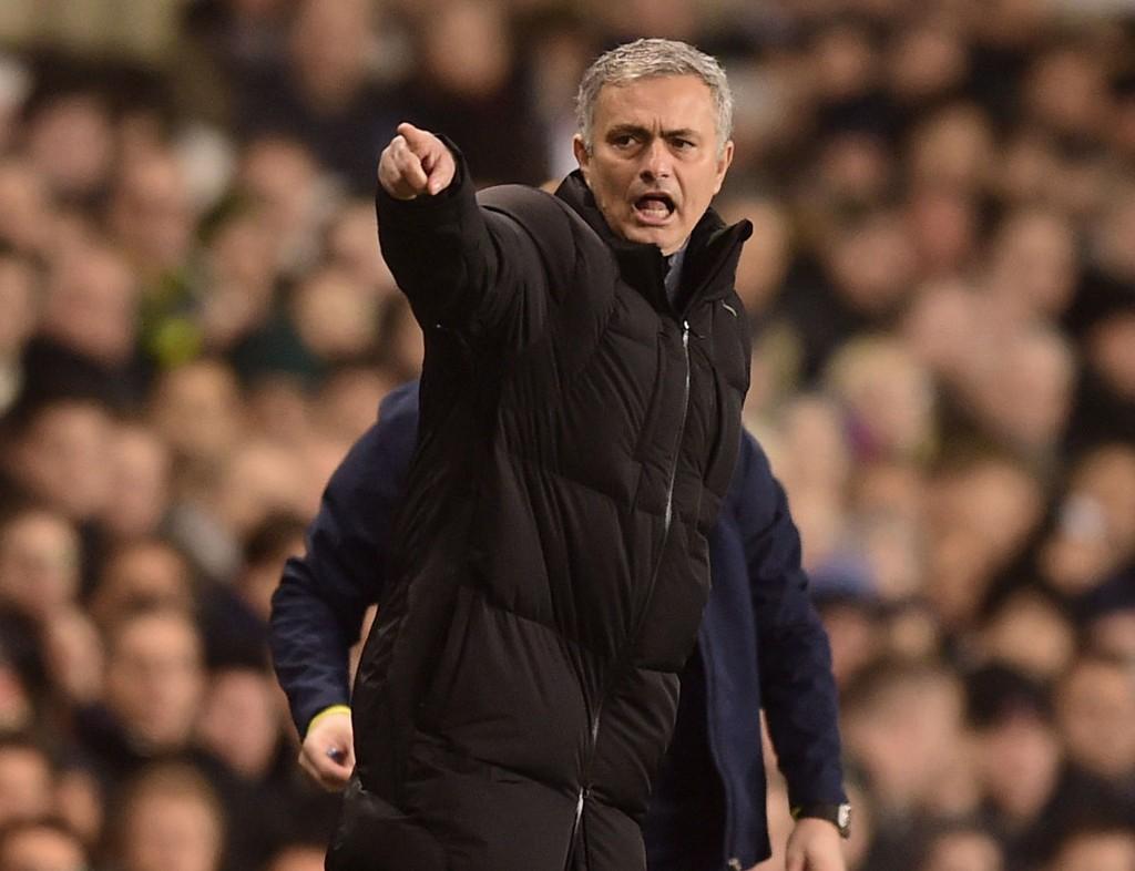 SINNA: Jose Mourinho var først sint, men så sa han unnskyld.