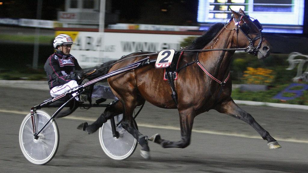 Ulf Ohlsson kjører flere av dagens favoritter på Umåker.