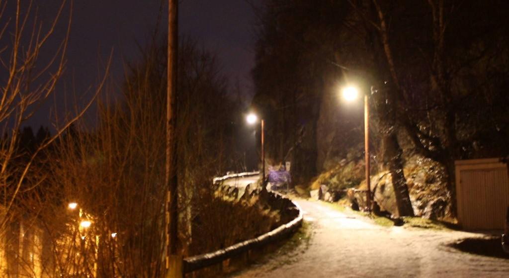 FULGTE ETTER GUTTEN: 22-åringen fulgte etter gutten opp denne turstien til Lønborglien i Ytre Sandviken. På toppen ble 15-åringen overfalt og forsøkt voldtatt.